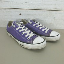 Converse All Star Purple Canvas Women's Size 9 Low Top Sneakers 137837F - $34.97