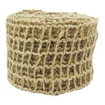 An item in the Crafts category: Panda Legends 10 Yards Weaving Grid Jute Burlap Ribbon for DIY Crafts Wedding Pa