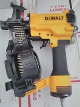 DeWALT DW45RN 15-Deg Coil Roofing / Fencing Nailer W/ Manual & 1/4 NPT F... - $187.11