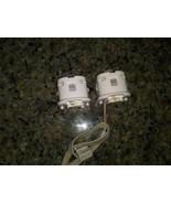 2 Genuine OEM WHITE Nintendo Wii Motion Plus Adapters LOT RVL-026 SET Au... - $24.74