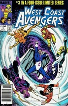 West Coast Avengers #3 NM 1985 Marvel Comic Book - $1.89