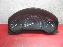 04 03 saab 9-3 speedometer instrument gauge cluster 183k 12785197 - $24.74
