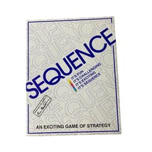 Jax Sequence  Original Sequence Game with Folding Board, Cards and Chips - $16.99