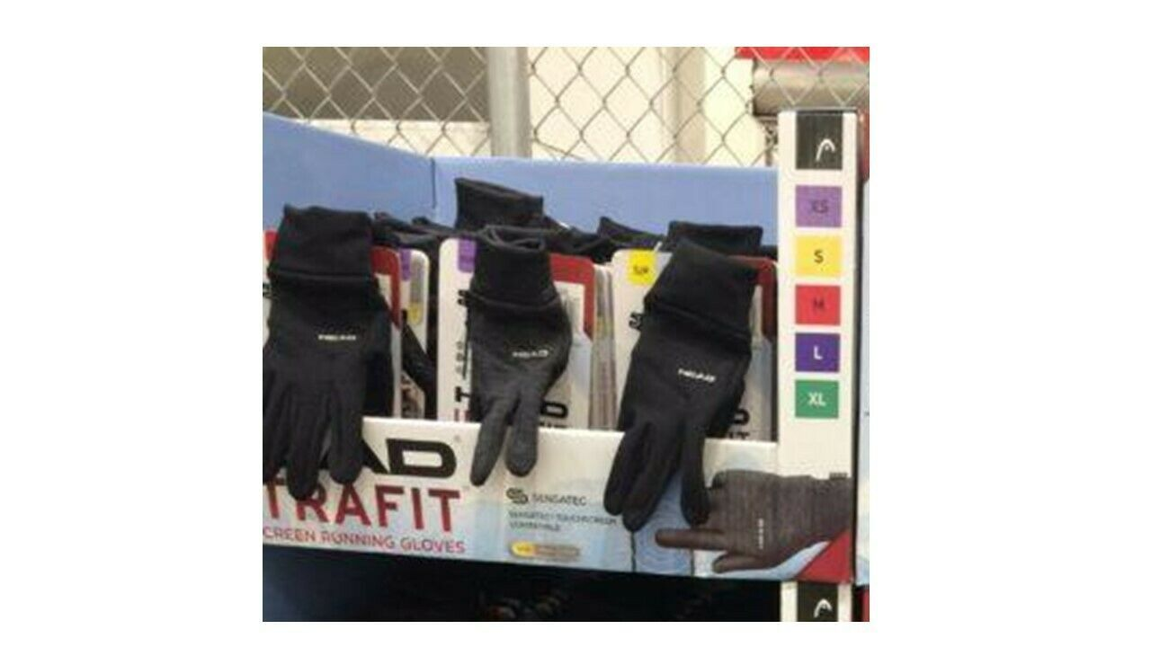 Primary image for Head UltraFit Touchscreen Running Gloves Unisex Costco # 2001113 - New