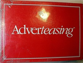 Adverteasing The Board Game of Slogans Commercials Jingles 1988 Edition 2-4 New - $13.09