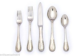 Merletto by Ricci Stainless Flatware Tableware Set Service 12 New 60 Pcs... - $769.50