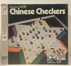 Vintage Dragon Chinese Checkers from Milton Bradley 1973 Edition in Box - $5.71