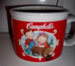 2002 Campbells Soup Co Mug with Handle Two Scenes Houston Harvest Gifts ... - $11.99