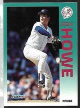 1992 Fleer Baseball-#230-Steve Howe-Yankees-Pitcher - $4.44