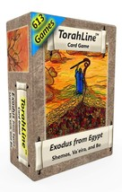 TorahLine Card Game, Exodus from Egypt English Only 1st Ed. - $19.47