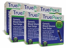 True Point Generic Test Strips 300 Count for Use with One Touch Ultra, U... - $61.34