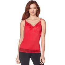 Rhonda Shear Pin Up Camisole in Red, 1X (630904) - $21.77