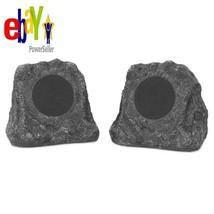 2-Pc Rock Speakers Solar Charging Bluetooth Outdoor Garden Innovative Te... - $139.90 CAD