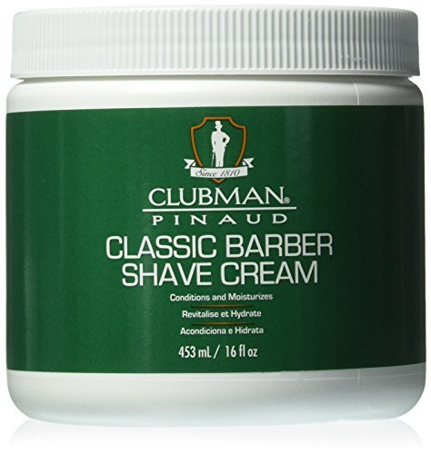 Clubman Classic Barber Shave Cream, 16 oz, 1 pack