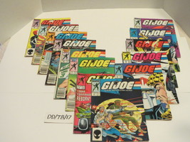 Marvel Comics GI Joe Comic Lot 1982-1994 13 Issues Larry Hama Duke Destro Cobra - £24.02 GBP