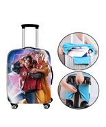 Back to the Future Suitcase Cover Backpack Luggage Protector Trolley Cov... - $29.95