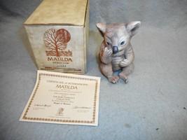 "Vintage River Shore Ltd R.j Marrón ""Matilda The Baby Koala "" 11.4cm Alto... - $14.98"