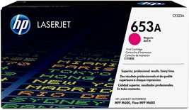 HP 653A Toner Cartridge, Magenta - 1-pack CF323A - $199.99