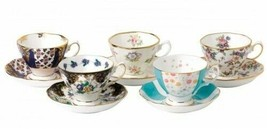 100 Years Of Royal Albert 1900-1940 5-Piece Teacup & Saucer Set New # 40... - $273.49