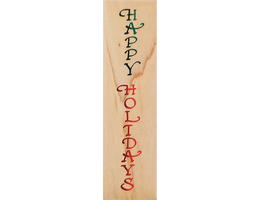 Stampendous 1999 Holidays Border Wood Mounted Rubber Stamp #EL001 - $4.99