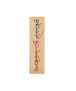 Stampendous 1999 Holidays Border Wood Mounted Rubber Stamp #EL001 - $4.99