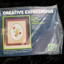 "Creative Expressions Sweet Springtime 3225 Punchneedle Kit 12"" x 16"" - $17.74"