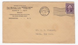 MUTUAL LIFE INSURANCE COMPANY OF NEW YORK CLEARWATER FL APRIL 15 1937 - $1.98