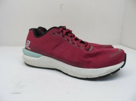 Salomon Women's Sonic 3 Balance Running Shoes Been Red/White/Kentucky Blue 9M - $52.24