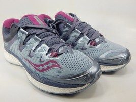Saucony Triumph ISO 4 Size US 8 M (B) EU 39 Women's Running Shoes Gray S10413-1
