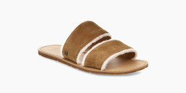 Ugg Flats Evelita 1101036 Sandals Chestnut ( 12 ) - $99.97