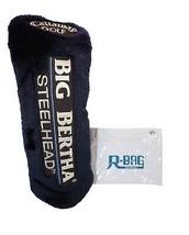 CALLAWAY GOLF BIG BERTHA STEELHEAD #4 - USED CLUB COVER & R-BAG POUCH - $14.88
