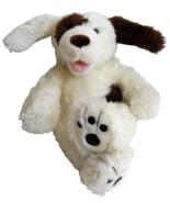 "Build a Bear Brown White Dog 17"" Plush Wire Ears Shaggy Stuffed Animal T... - $31.25"