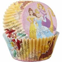 Disney Princess 50 Baking Cups Party Cupcakes Liners Cinderella Rapunzel... - $2.81