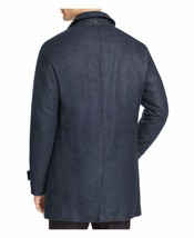 Herno Exclusive Denim Wool Blend Hidden Button Puffer Coat Down Jacket B... - $299.99