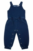 Habitual Baby Girl Jumpsuit Size 12 Months Kid's Wear, Navy - NEW - $26.71