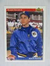 Roger Salkeld Seattle Mariners 1992 Upper Deck Baseball Card 15 - $0.98