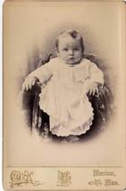 Chester Redpath Cabinet Photo of Baby - Merrimac, Massachusetts - $17.50