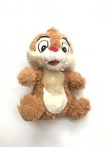 "Disney Store Chip Rescue Rangers Chip & Dale Plush Chipmunk 7"" Stuffed A... - $15.83"