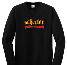 Schecter Guitar Research Long Sleeves Black T Shirt - $19.90+