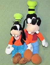 "Disney Store 19"" GOOFY 15"" Plush Stuffed Animal DOLL Green Hat Blue Pant... - $23.36"