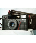 Nikon L35AF2 Film Compact Camera 35mm f/2.8 Point n Shoot Cased -MINT- T... - $180.00