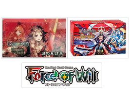 Force of Will Legacy Lost + Moon Priestess Returns Booster Box Bundle FO... - $139.99