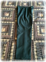 Vintage 1980 Levi Bend Over Polyester Pants Women's Size 10 28/28 NOS USA made - $15.19