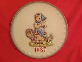 """1987 Hummel 17th Annual Plate,""""Feeding Time"""".  - $19.99"""