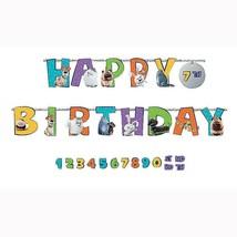 Secret Life of Pets 2 Add an Age Jumbo Letter Happy Birthday Banner 10 Feet Long - $9.16