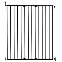 BabyDan Scandinavian Pet Design Extra Tall Wall Mounted Gate - Black