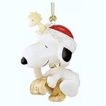 Lenox Snoopy's List For Santa Ornament Peanuts Woodstock Christmas Gift NEW - $33.40