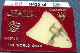 PHONOGRAPH RECORD PLAYER NEEDLE STYLUS Astatic N425-sd for Euphonics 254, 256 image 2