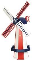 5 FOOT AMERICAN PRIDE WINDMILL - Patriotic America Working Weathervane A... - $522.35 CAD