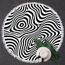 Zebra Illusion Beach Towel - $12.32+